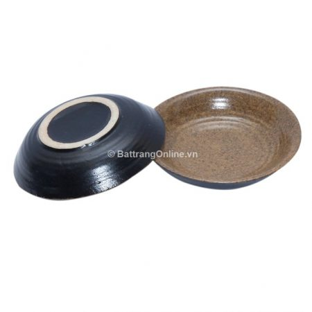 Đĩa gia vị Bát Tràng đường kính 8.5cm, cao 1.8cm
