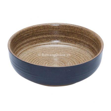 Tô nông đựng canh gốm sứ Bát Tràng đường kính 16cm, cao 5.4cm