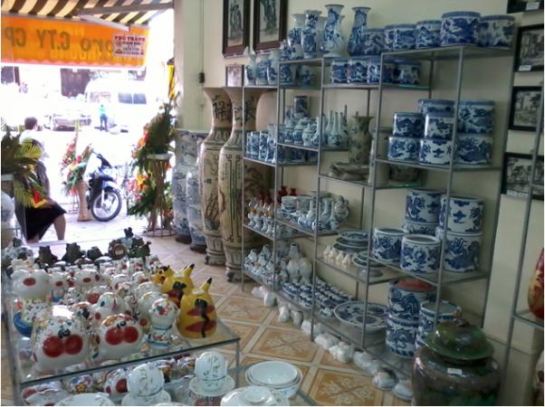 Đại lý cửa hàng gốm sứ bát tràng tại Bình Dương