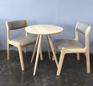 Ưu điểm của dòng sản phẩm bàn ghế quán cafe bằng gỗ