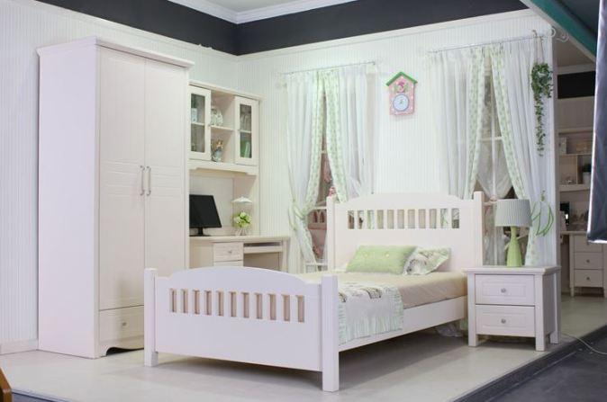giường ngủ phong cách Hàn Quốc