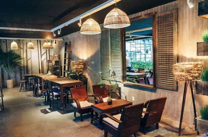 Phong cách quán cafe vintage
