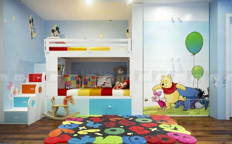 thiết kế phòng ngủ an toàn cho trẻ