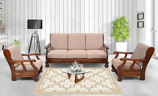 bộ bàn ghế phòng khách gỗ công nghiệp