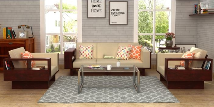 bộ bàn ghế gỗ phòng khách giá dưới 10 triệu đồng